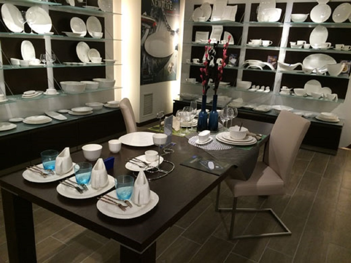 show room Villeroy and Boch